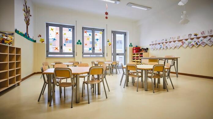 Scuola materna a San Sossio Baronia