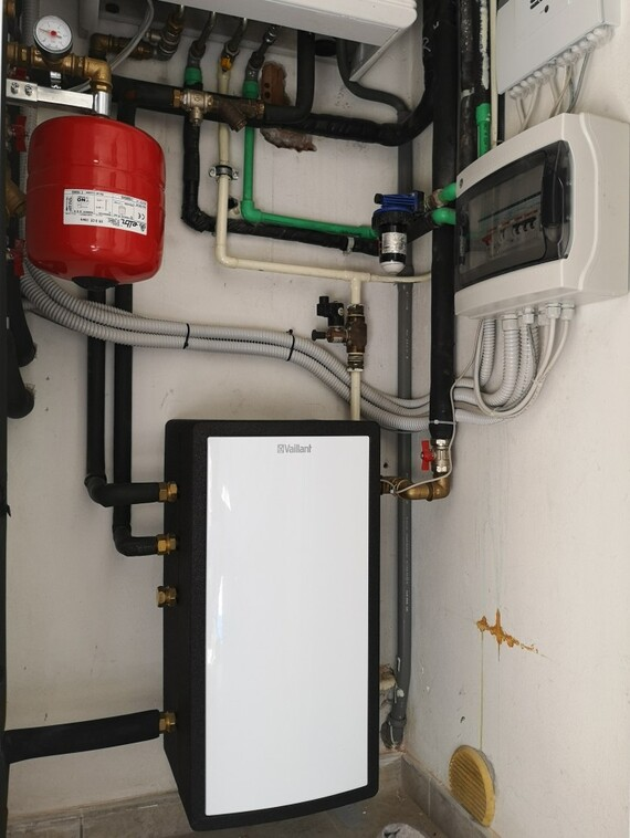 Riqualificazione energetica con sistema ibrido