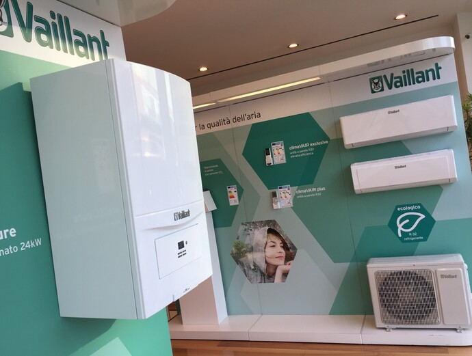 La showroom Vaillant di Milano cambia look