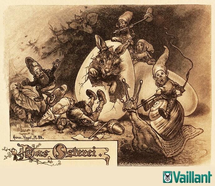Un leprotto: la fonte di ispirazione per il marchio di Vaillant