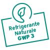 Grazie al bassissimo GWP pari a 3, il refrigerante naturale utilizzato per aroTHERM plus è oggi di gran lunga tra i gas refrigeranti meno dannosi per il clima.