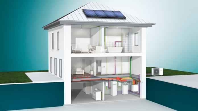 Pompa di calore per le nuove costruzioni