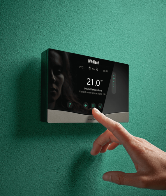 centralina sensoCOMFORT touchscreen