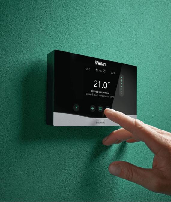 sensoHOME touchscreen