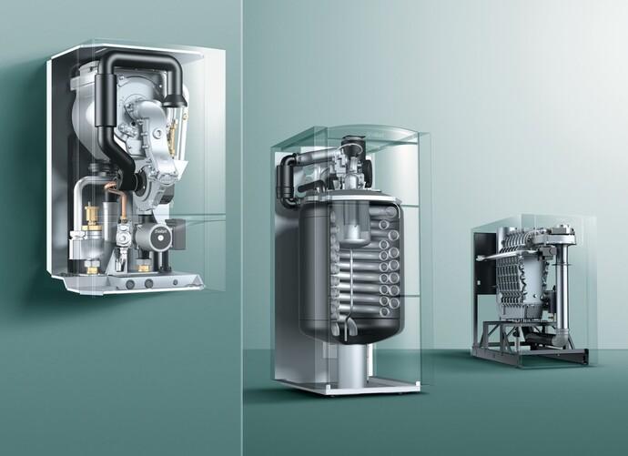 Pompa di calore la soluzione ecocompatibile per il tuo impianto di riscaldamento vaillant - Scaldabagno con pompa di calore ...