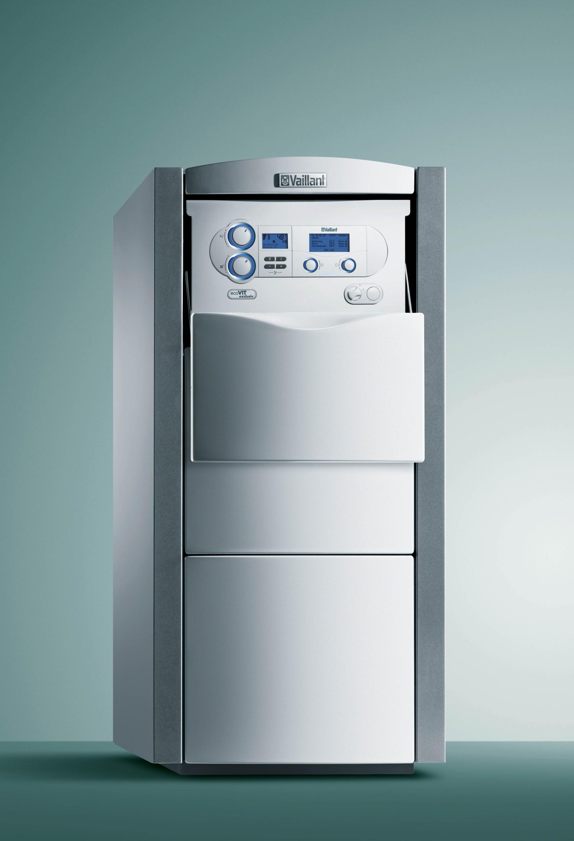 ecoVIT exclusive VKK - Per il professionista - Caldaia basamento a condensazione con bollitore ...