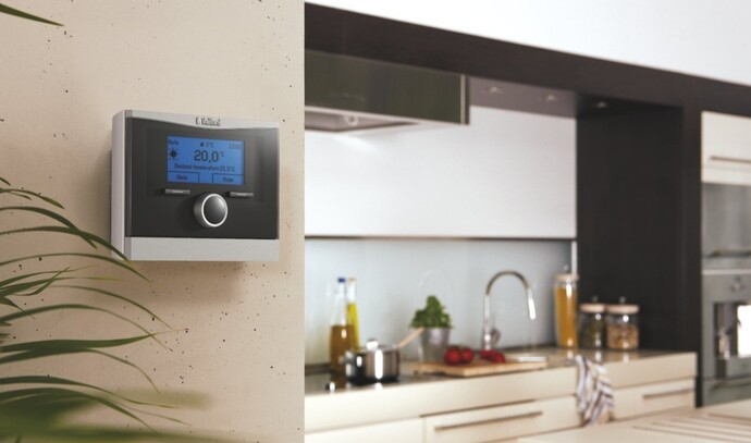 "Il dispositivo di regolazione calorMATIC ""user friendly"" di Vaillant"
