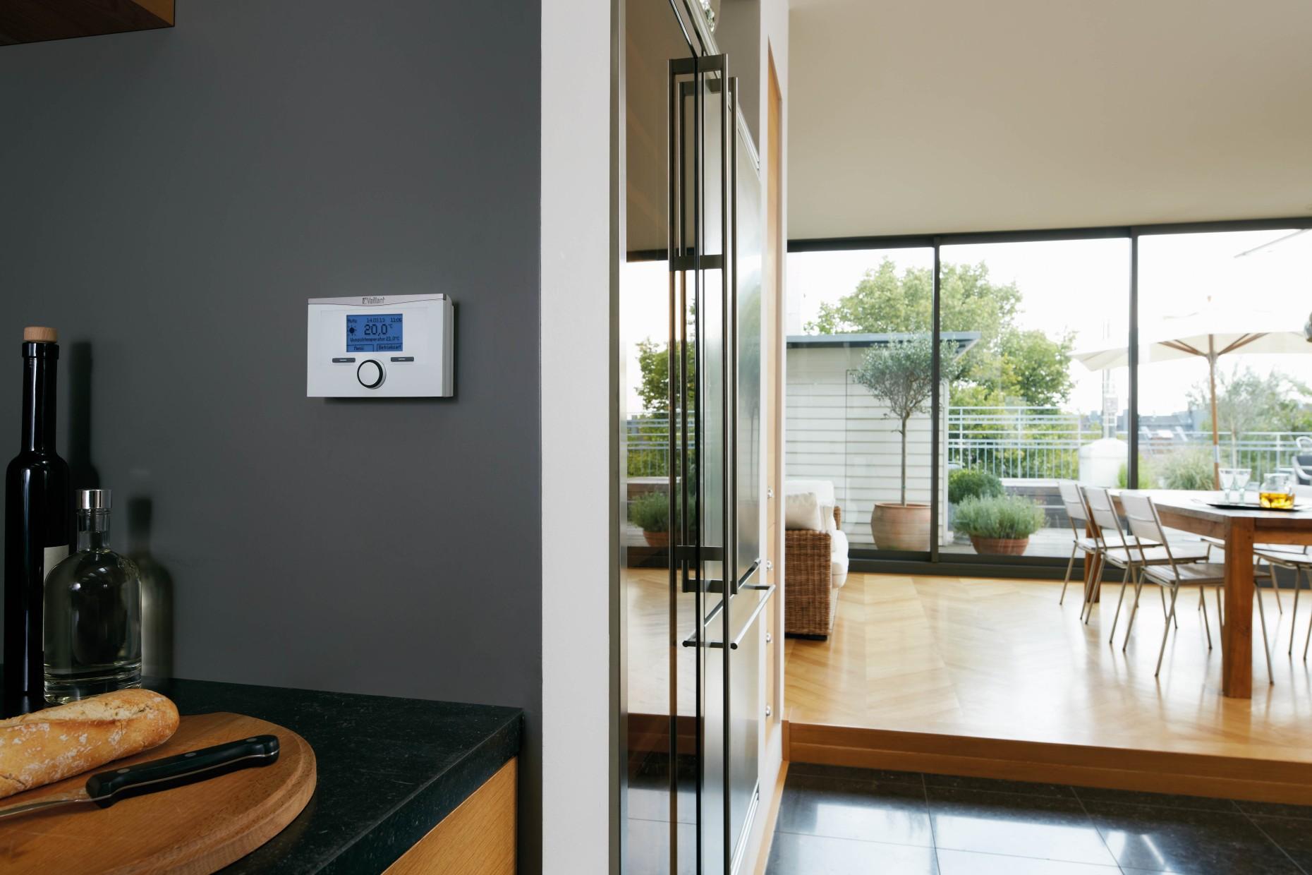 vaillant calormatic vrt 350f termostato ambiente regolabile modulante wireless ebay. Black Bedroom Furniture Sets. Home Design Ideas