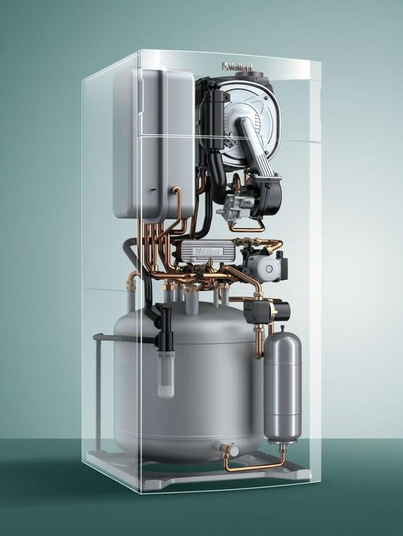 Caldaia vaillant ecocompact vsc 256 4 5 100 con bollitore - Montaggio scaldabagno a gas ...